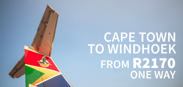 Airlink Windhoek Affordable Fares