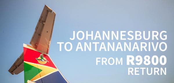 Airlink Antananarivo Affordable Fares