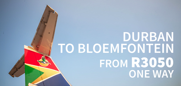 Airlink Bloemfontein Affordable Fares